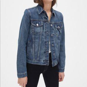 NWOT {GAP} Denim Jacket XL TALL